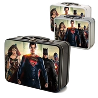 Picture of Custom Printed Thin Retro Lunch Box